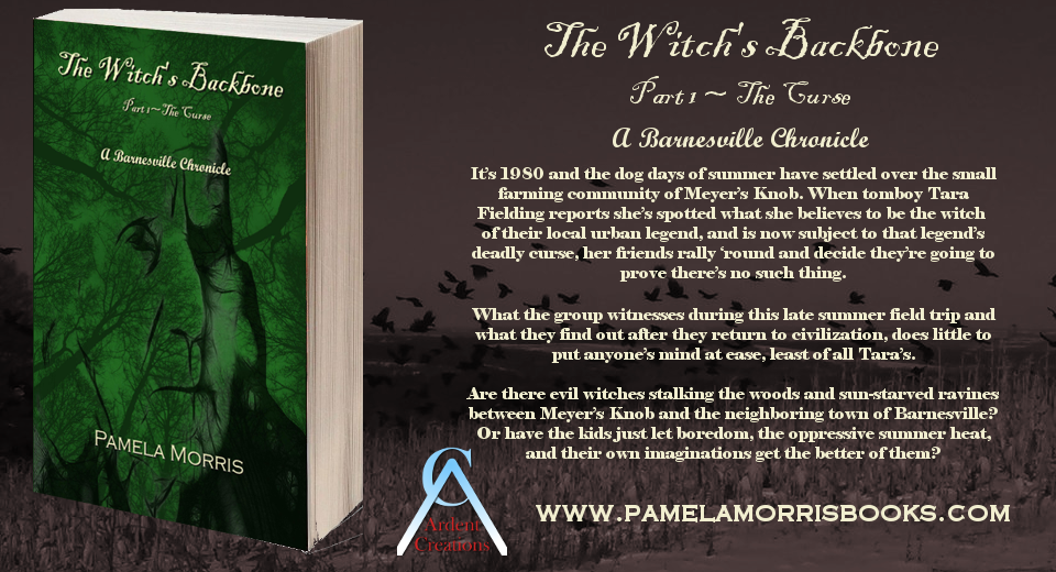 Book Trailer – The Witch's Backbone