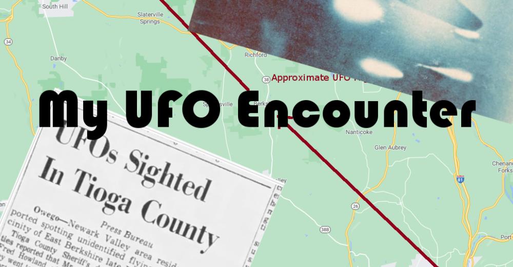 My UFO Encounter